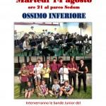 Concerto Bande Junior - Locandina