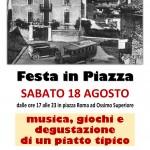 Festa in Piazza - Locandina