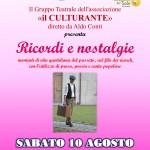 Teatro in Piazza (Il Culturante) - Locandina-1